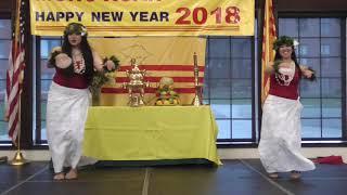 2. Kaimiola Polynesian Dance (Múa) [Xuân Mậu Tuất 2018 ở Tacoma]
