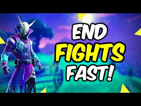 How To End Fights Faster Fortnite!