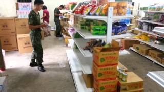 國軍952營站(南竿中山門)15日-18日搬遷 暫停營業