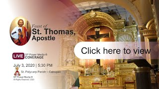 Download Mp3 Feast Of St. Thomas, Apostle | July 3, 2020
