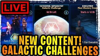 VERY FIRST GALACTIC CHALLENGE IS HERE! INITIAL REVIEW GAMEPLAY LIVE!