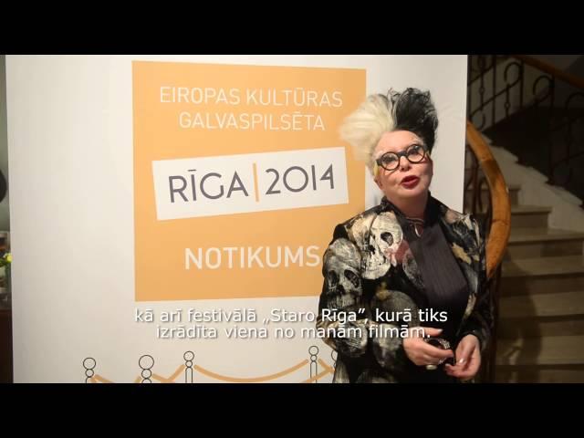 Māksliniece ORLAN aicina uz STARO RĪGA 2014