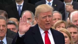 دونالد ترامب يؤدي القسم رئيسا للولايات المتحدة الأمريكية