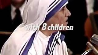 Mother Teresa Heart Touching Speach ❤