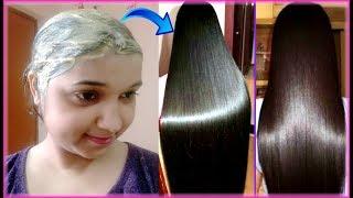 Triple Hair Growth Hair Pack for Silky/Shiny/Strong Hairs | DIY hair mask for Rough & Damaged hairs thumbnail