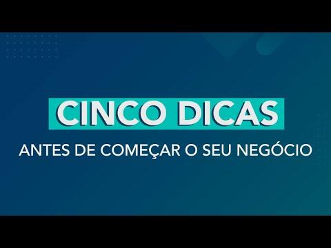 DICAS ANTES DE COMEÇAR SEU NEGÓCIO