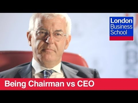 Chairman vs CEO | London Business School