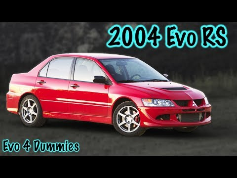 Everything About the 2004 Mitsubishi Evo 8 RS!