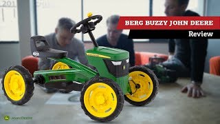 Review | BERG Buzzy John Deere pedal go-kart