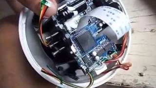 SWANN PTZ DOME CAMERA 750/ 752 model.Step by step guide disassembly/repair