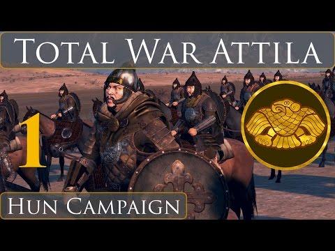 Total War Attila Hun Campaign Part 1 El Horde es Grande