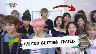 BTS & TWICE MAKING IT OBVIOUS FOR TAETZU