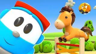 Leo el Pequeño Camión - Animales para niños y sus sonidos