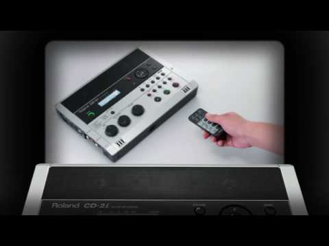 CD-2i SD/CD Recorder Overview