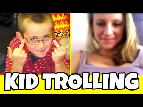 LITTLE KID TROLLING ON OMEGLE (Omegle Pranks)