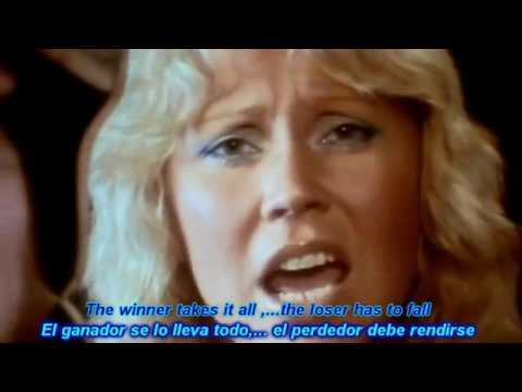 ABBA  The Winner Takes It All HD Lyrics SubEspañol Ingles    —flv