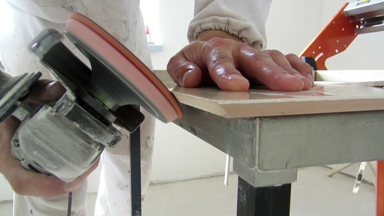 How to cut the corner of the plinth 61