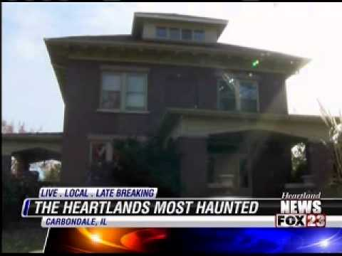 Top 10 Most Haunted Buildings in Southern Illinois -- Hundley House 9PM