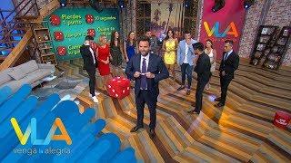 ¡Iniciemos este mes con la mejor diversión de la televisión con el Sin Palabras! | Venga La Alegría