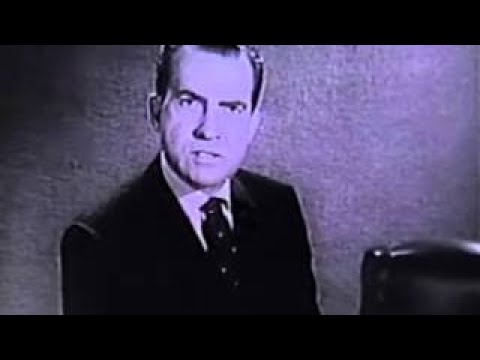 1960 U.S. Presidential Election Ad - Richard Nixon on The Most Important Issue - Peace & C