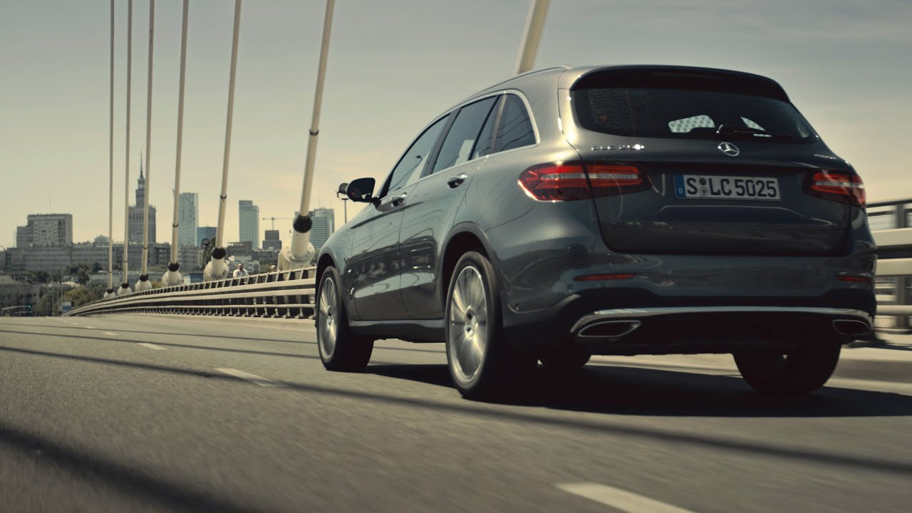 Highsnobiety x Mercedes-Benz GLC - Exploring the City of Contradictions -  Mercedes-Benz original