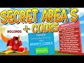 NEW SECRET AREAS AND SECRET CODES IN ROBLOX ICE CREAM SIMULATOR!