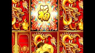 ★FINALLY GOT IT !☆DRAGON Choose ONLY★5 TREASURES Slot machine $5.28 Bet☆Better than HP ! @San Manuel