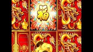 ★FINALLY GOT IT !☆DRAGON Choose ONLY★5 TREASURES Slot machine $5.28 Bet☆Better than HP ! @San Manuel