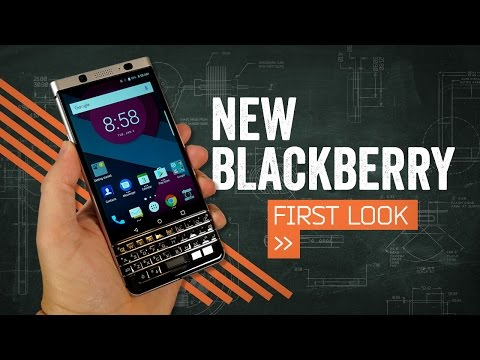 BlackBerry 'Mercury' Hands On
