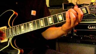 Long Cool Woman In a Black Dress GUITAR LESSON The Hollies