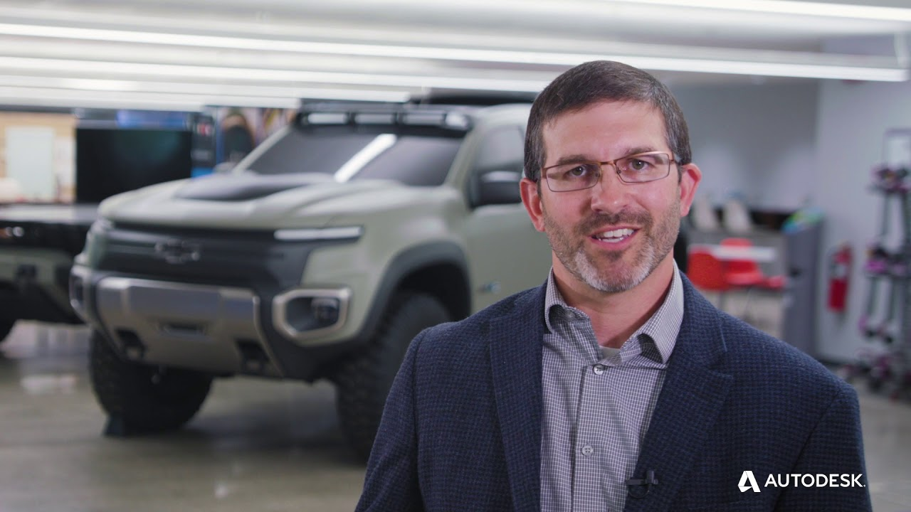 General Motors Drives Vehicles of the Future with Generative Design