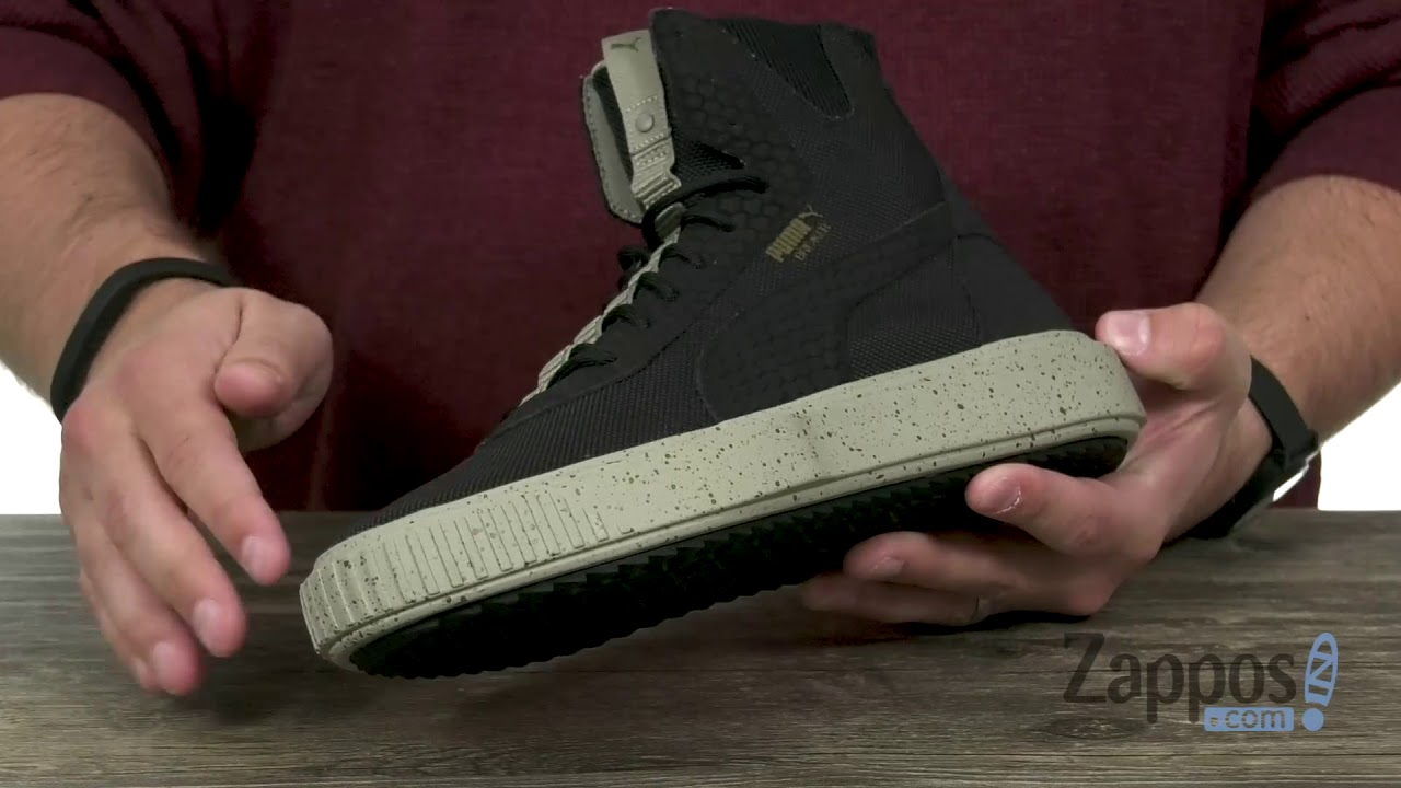 69ff5a56816 PUMA Puma Breaker Hi Blocked SKU  9115930 - YouTube