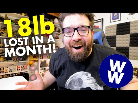 HOW I LOST 18 POUNDS IN A MONTH ON WEIGHT WATCHERS BLUE (myWW Blue Plan) | Diet Challenge