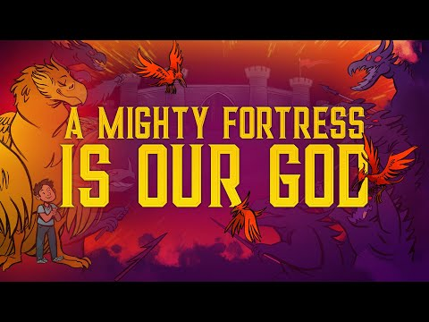 Sunday School Lessons: Psalm 91 A Mighty Fortress is our God For Kids | ShareFaith.com