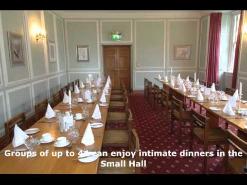 Traditional Conference Rooms and Dining at Clare College