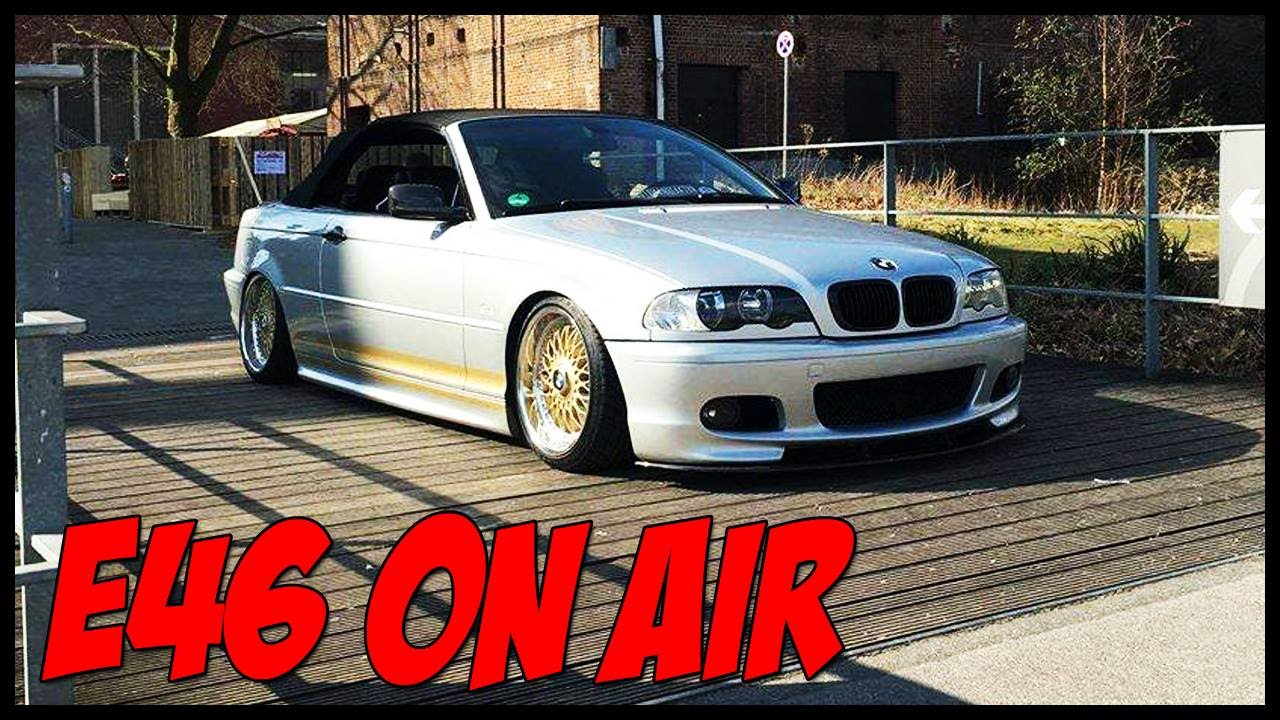 bmw e46 cabrio on air bbs rolling motief youtube. Black Bedroom Furniture Sets. Home Design Ideas