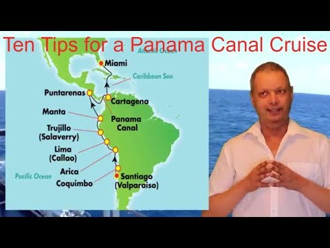 ten tips for a Panama Canal Cruise