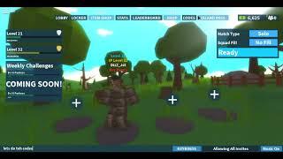 Roblox Ilha Royale Chug código jarro e revisão de atualização