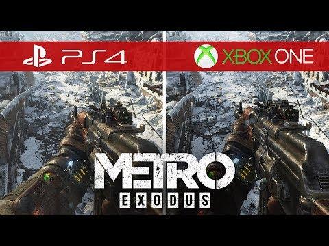 Metro Exodus Comparison - Xbox One vs. Xbox One S vs. Xbox One X vs. PS4 vs. PS4 Pro