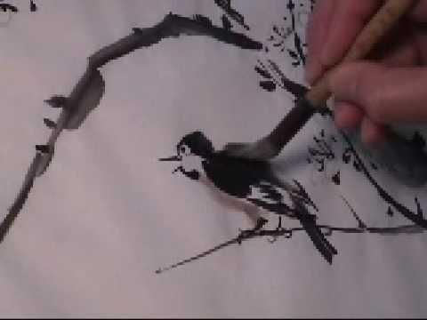 Plum Blossom Chinese Painting Tutorial (4 of 5)