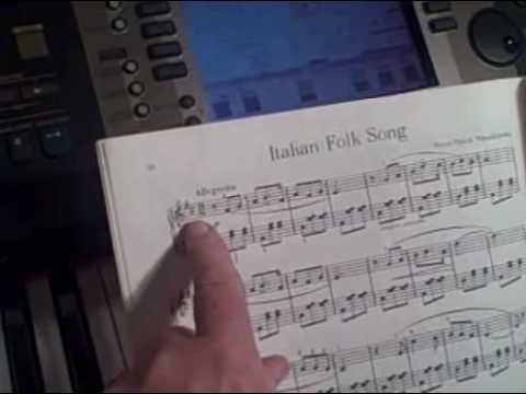 Sharp key signatures in sheet music