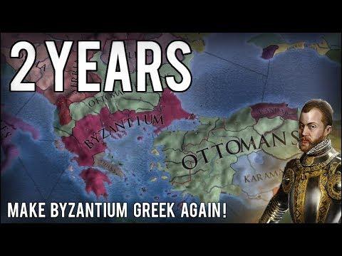 Eu4 - How to Own as Byzantium 1.28