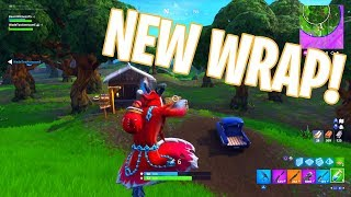 NEW Krampus WRAP in Fortnite (How To Get New Krampus Weapon Wrap In Fortnite Battle Royale)
