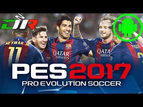 PES 2017 - ANDROID - First Tutorial + Barcelona VS Borussia Dortmund - Milan VS Liverpool