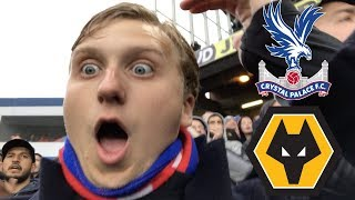 MATCHDAY VLOG #27: Crystal Palace v Wolves   BURNLEY IN DISGUISE?!
