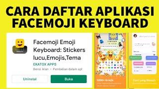 Cara Daftar Aplikasi Facemoji Emoji Keyboard screenshot 5