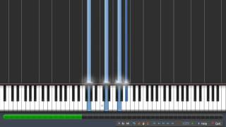 The Butterfly Effect (Piano Tutorial full) Эффект бабочки