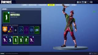 Fortnite 5.40 Leaked Skin Showcase