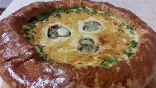 Вкусный и простой рецепт дрожжевого пирога Пирог с капустой и грибами(Рецепт под ссылочками : **************************************************************** Ссылка на РЕЦЕПТ домашнего майонеза : https://www.youtube...., 2016-12-26T06:33:20.000Z)