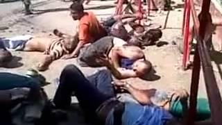 Repeat youtube video Masacre en uribana. Barquisimeto. Venezuela.